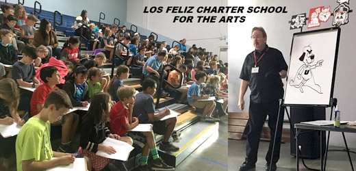 WOC Students at Los Feliz Charter School of the Arts