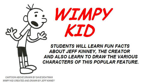 Wimpy Kid Cartoon Class